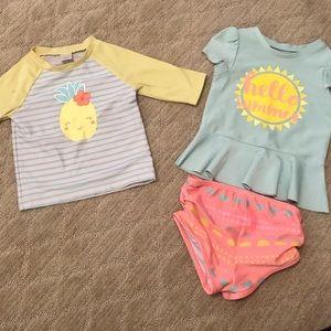 Other - 18M-2T Toddler Swimwear Set
